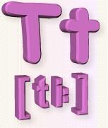 азбука T