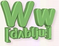 азбука W